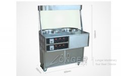 LG-460Electric Chestnut Frying/Roasting Machine