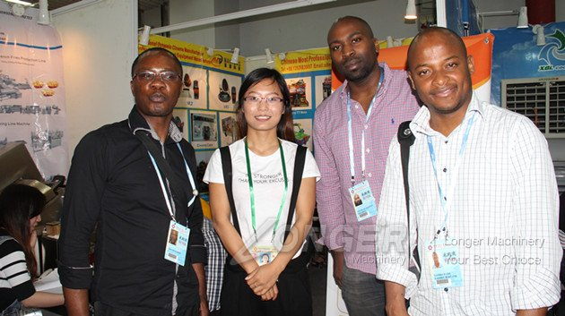 Canton fair customers from south africa