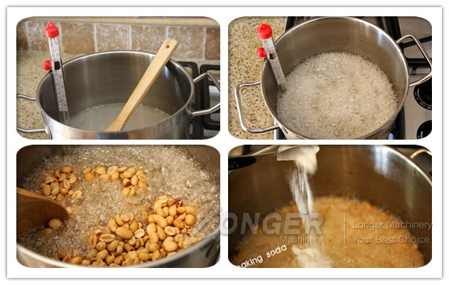 How to make tasty peanut brittle